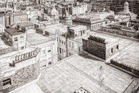 Escher, Glasgow, Lighthouse, Netherlands, Schotland, Scotland, appartementen, black and white, buildings, center, centrum, chimneys, churches, city plan, cityscape, cohesion, dak, daken, drawing, drawing-like, dutch, engraving, flat, flats, gebouwen, geometric, geometrical, geometrisch, gravure, grey, greyscale, ground plan, houtdruk, in perspective, itinerary, kerken, lithograph, map, mezzotint, muren, pen-and-ink, pentekening, plan, plattegrond, roof, roofs, samenhang, schoorstenen, sketch, straten, stratenplan, street map, street plan, streets, tekening, uitzicht, view, walls, woodcut, woodprint